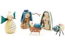 Nativity Sets / Primitive and handmade nativity sets from around the world.