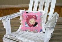 Quilts / Lots of ideas on how to re-use vintage quilts.