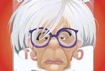 Andy Warhol / Warhol Art / by Gary Ishmael