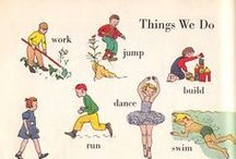 Vintage Children's Books / Colorful and fun children's book from days gone by.