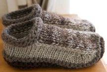 knit free - gloves, socks, slippers