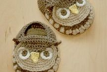 baby booties / by Nany Naiveneedle