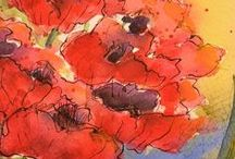 Missed my Calling... / Watercolor painting, tutorials, instructions, videos and inspiration. / by Terri Shaver