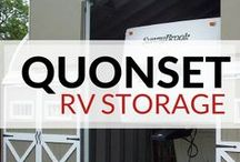 Steel Buildings for RV Storage / Are you looking for a solid, sturdy and economical #RV #storage building to protect one of your biggest investments? A steel building is your best choice.