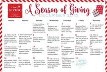 A Season of Giving / Follow 11 Magnolia Lane's annual Christmas tradition of 24 acts of kindness and giving.