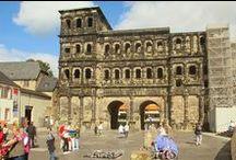 Trier Porta Nigra / Römisches Stadttor, im Mittelalter Kirche
