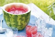 Party Drinks / Drinks for parties, both alcoholic and non-alcoholic.