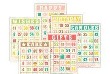 Bingo Cards / Any kind of creative bingo card or altered bingo card or bingo card art that you can think of.