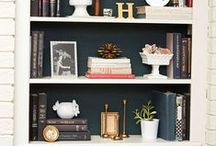 Bookshelves Inspiration / What kind of book shelves should you built next to a fireplace? Here are some ideas.