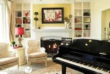 Fireplaces Inspiration / Lots of ideas on what to do with your fireplace.