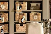 Home Organization / Ideas for organizing every room in your home.