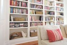 Built Ins / Here are some ideas for built-in bookshelves.