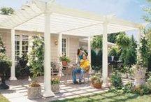 Pergola / Arbor / Patio Cover / Lots of information on pergolas, arbors and patio covers.