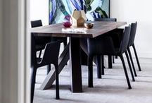 Dining Chairs / Fanuli offers a selection of Australian and Italian dining chairs  for private and contract interiors