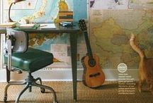 Decorating with Maps / Lots of ideas for using maps around your home. They make beautiful decor!