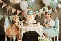 // kids' party inspiration // / Fun ideas for kids' parties