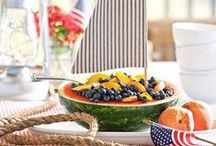 """Summer Shipwrecked Party / Colorful, fun ideas for a summer party with the theme """"shipwrecked."""""""