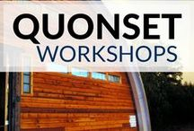 Quonset Workshops / Our #steel #workshops are the shop buildings of choice for all types of #hobby enthusiasts, including #woodworkers, metal shop owners and classic car professionals. workshops | workshops garage | workshop shed | workshops for women | workshops, studios and tools | workshop storage