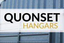 Quonset Hangars / All of our metal hangar building kits are constructed with commercial grade, high quality steel. Our knowledgeable building specialists are able to customize aircraft hangar plans to fit your specific needs. hangars | airplane hangars | aircraft hangars | hangar designs | hangar layouts | hangar homes