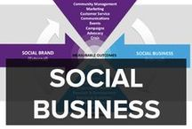 SOCIAL BUSINESS / Social business looks at how social changes working practices, processes and collaboration in organizations. Social business provides the frameworks, practice and research to help others adopt a social business approach.