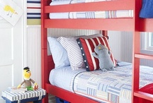 Sharing a bedroom ideas / If you have more children than you have bedrooms, sharing is your only option! We love hunting out pics of gorgeous shared bedrooms, filled with practical storage & tips for making shared spaces work. You can visit our website for tips on this topic here: http://www.thesleepstore.co.nz/sleep-information/children/articles/decor-tips-for-shared-bedrooms