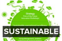 SUSTAINABLE FUTURES / Environmental issues and green technologies. This board focuses on what we need to change and how we need to become more sustainable. Includes green technology and break through uses of technology for a sustainable world.