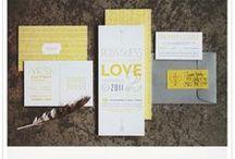 Weddings - Yellow + Grey