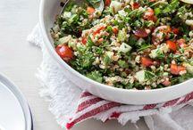 Vegan & Raw Vegan Salads / Raw Vegan and Vegan Salads
