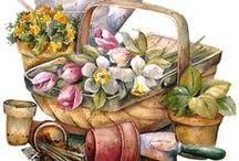 Artist: Marjolein Bastin / Beautiful artwork by Marjolein Bastin. / by Sherrie Shaffer