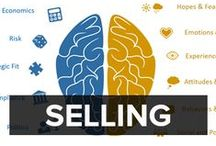 SALES AND SELLING / This board looks at how you can improve your sales techniques - from training your team to personally developing your own techniques. Win more business and get selling.