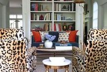 home/living rooms & dens / by Lesley Glotzl