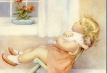 Artist: Bessie Pease Gutmann / The beautiful artwork of Bessie Pease Gutmann. / by Sherrie Shaffer