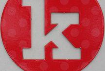 K / Letter Dekor