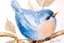 Art & Illustration: Birds / by Sherrie Shaffer