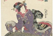 Geishas / White face, pillow on the back, socks in wooden flip-flops - what a work-wear! On this board we highlight several European collections featuring content related to the geisha culture.