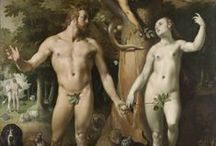Adam and Eve / In many beliefs, Adam and Eve were the first human couple and ancestors of all human beings. On this board we highlight artistic representations of the story of Adam and Eve.