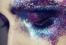Glitter Makeup looks