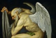 Angels / Angels are spirit beings found in various religions and mythologies. On this board we highlight artworks showing angels in paintings, sculptures and drawings. More artworks can be found on www.europeana.eu.