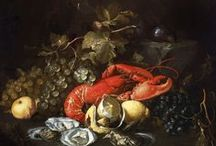 """Eating and Feasting / On this board we highlight still life paintings depicting food and drink. More of these """"delicious"""" artworks can be found on europeana.eu. / by Europeana"""