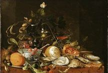 "Eating and Feasting / On this board we highlight still life paintings depicting food and drink. More of these ""delicious"" artworks can be found on europeana.eu."