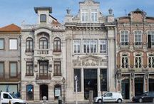 Art Nouveau - Architecture / On this board we highlight photographs of architecture and architectural details from the Art Nouveau period provided by the Aveiro City Museum, Portugal. More photographs can be found on our website www.europeana.eu.