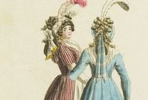 Journal Fur Fabrik Manufaktur, Handlung und mode / On this board we highlight fashion prints and fabric samples form the period between 1795 and 1801 provided by the Journal Fur Fabrik Manufaktur, Handlung und mode. More fashion illustrations can be found on our portal www.europeana.eu.