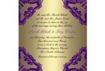 Ralph's Regal Purple & Gold / Purple and Gold Weddings.