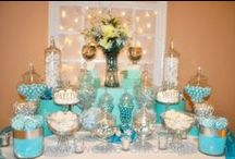 Let Them Eat Cake . . . & More! / Wedding Cakes, Desserts, and Candy Buffets.
