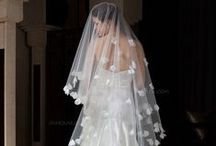 From Veil To Shoe . . . / Wedding veils, gloves, garters, hats, ties and shoes.