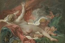 François Boucher / On this board we highlight works by the French artist François Boucher (1703-1770) who worked in the Rococo style. He was one of the most celebrated artist of the 18th century. More paintings can be found on our portal www.europeana.eu.