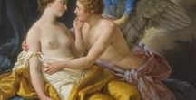 Cupid and Psyche / On this board, we highlight artworks displaying the mythical love between the god Cupid, also called Amor, and the mortal Psyche. More artworks can be found on www.europeana.eu.