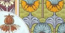 Art Nouveau - Plants and Ornaments / On this board we highlight drawings illustrating plants and their ornamental application during the famous art movement Art Nouveau (c.1890-c.1910). Designers found inspiration in analytically precise botanical drawings which were directly transposed into their designs. More drawings can be found on our portal www.europeana.eu.