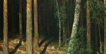 Forest sceneries / On this board, we highlight artworks displaying forest scenery. More artworks can be found on www.europeana.eu.
