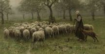 Shepherd scenes / On this board, we highlight artworks depicting shepherds and shepherdesses as well as shepherd scenes. More artworks can be found on www.europeana.eu.